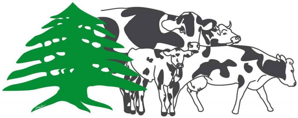 dessin Kaleengp vache liban